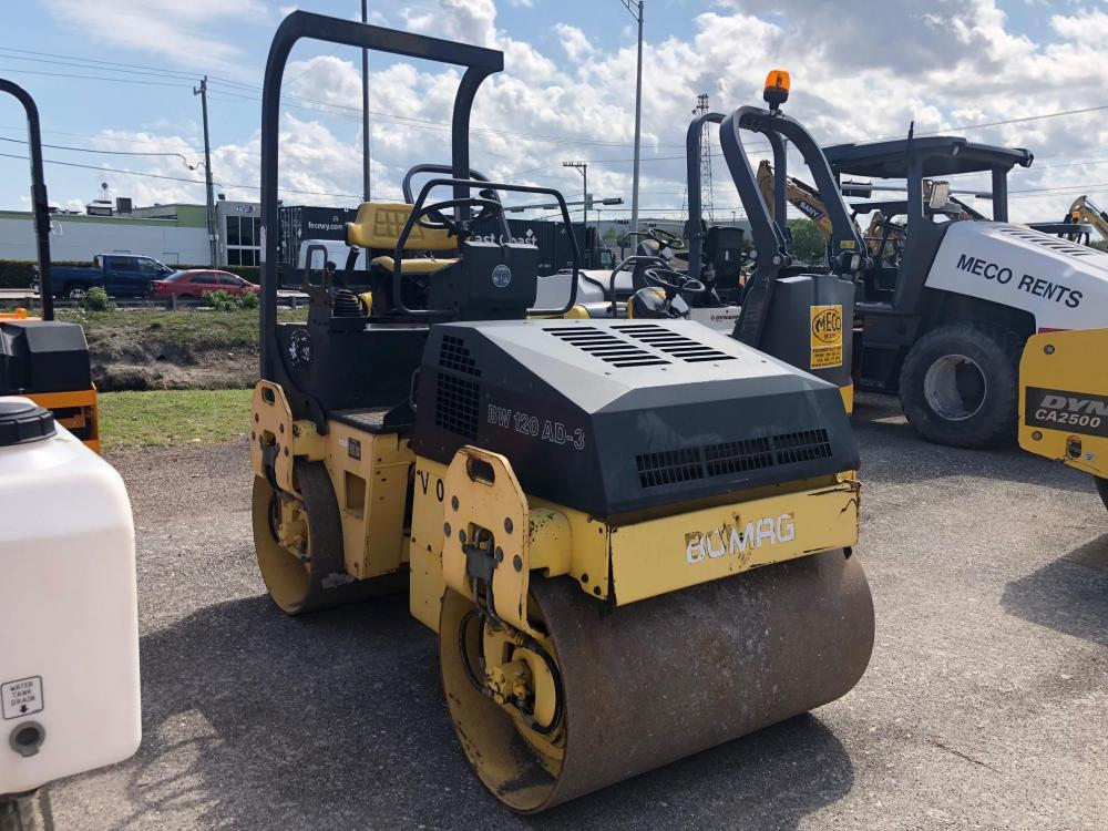 Detail photo of 2000 Bomag BW 120 AD-3 from Construction Equipment Guide