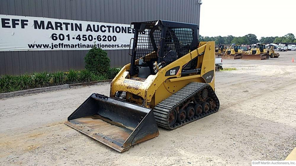 Detail photo of 2011 Caterpillar 247B3 from Construction Equipment Guide
