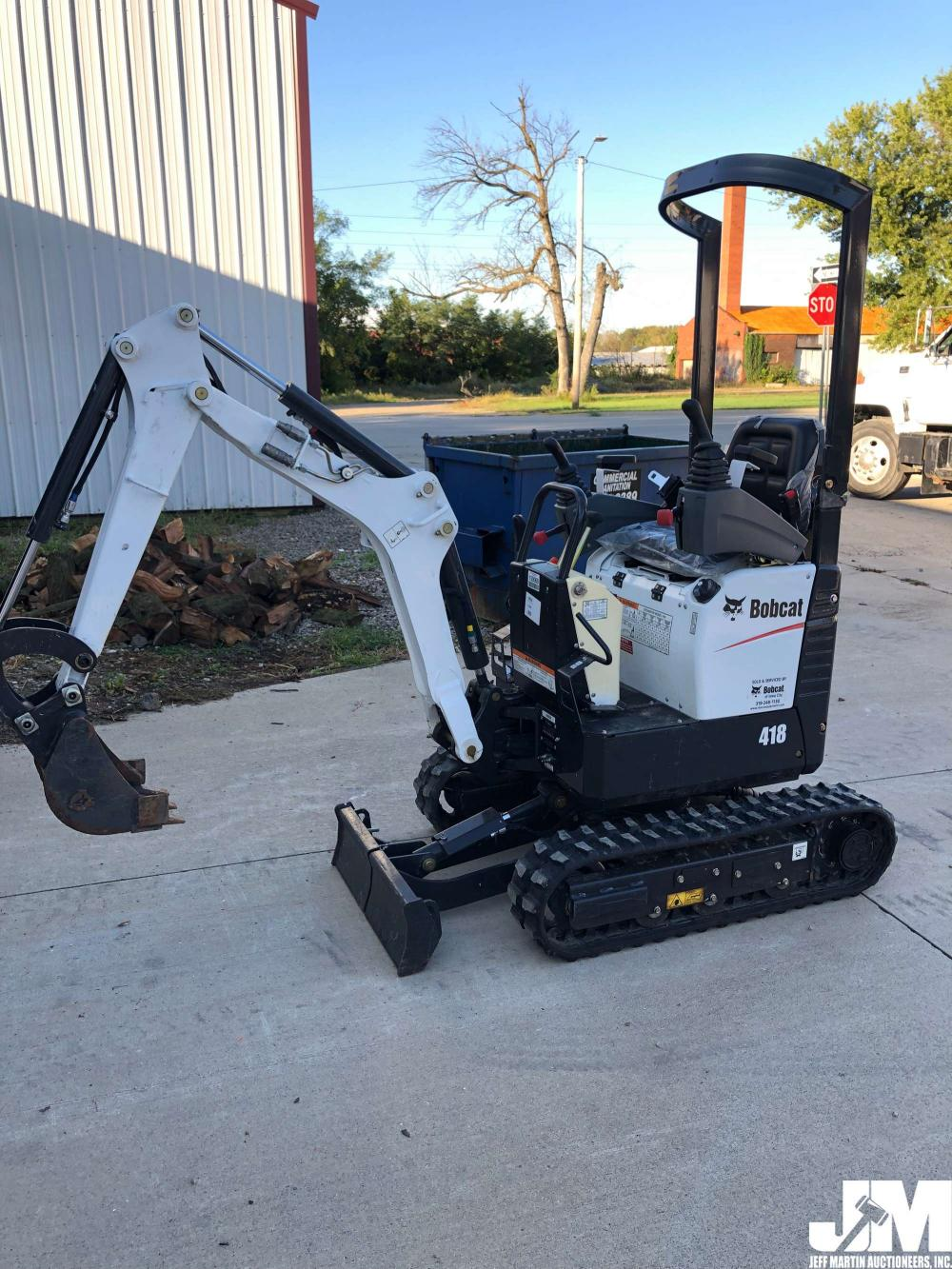 Detail photo of 2017 Bobcat 418 from Construction Equipment Guide