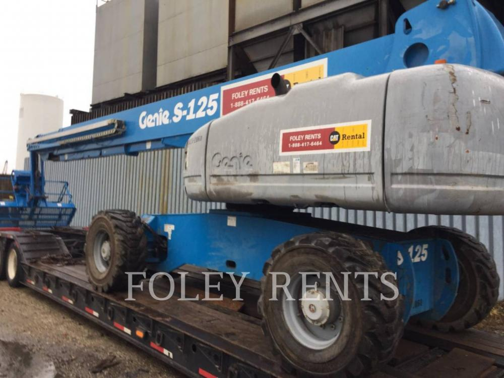 Detail photo of 2010 Genie S125 from Construction Equipment Guide