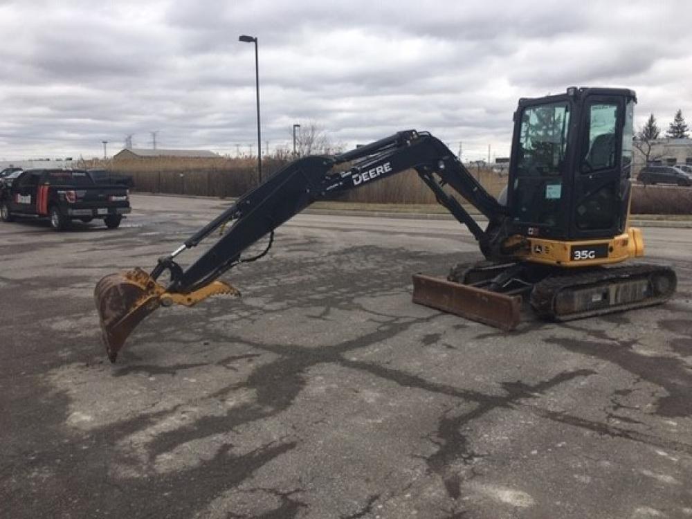 Detail photo of 2017 John Deere 35G from Construction Equipment Guide