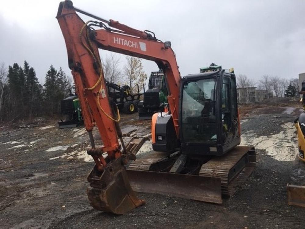 Detail photo of 2010 Hitachi ZX75US-3 from Construction Equipment Guide