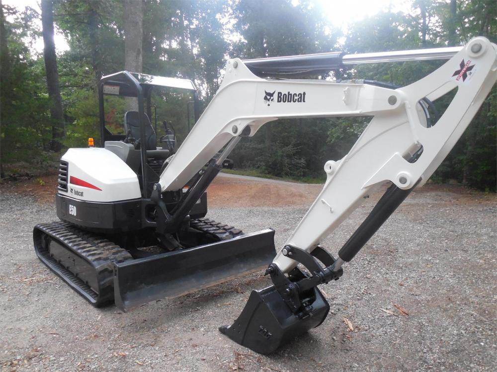 Detail photo of 2014 Bobcat E50 from Construction Equipment Guide