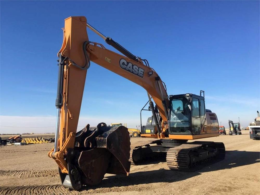 Detail photo of 2017 Case CX210D from Construction Equipment Guide