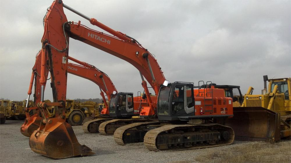 Detail photo of 2011 Hitachi ZX450LC from Construction Equipment Guide