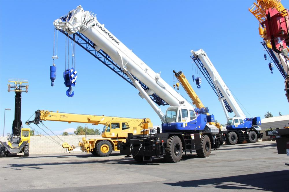 Detail photo of 2018 Tadano GR-550XL-3 from Construction Equipment Guide