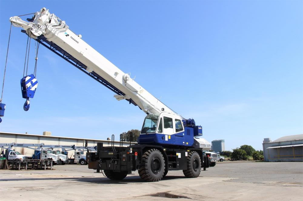 Detail photo of 2019 Tadano GR-350XL from Construction Equipment Guide