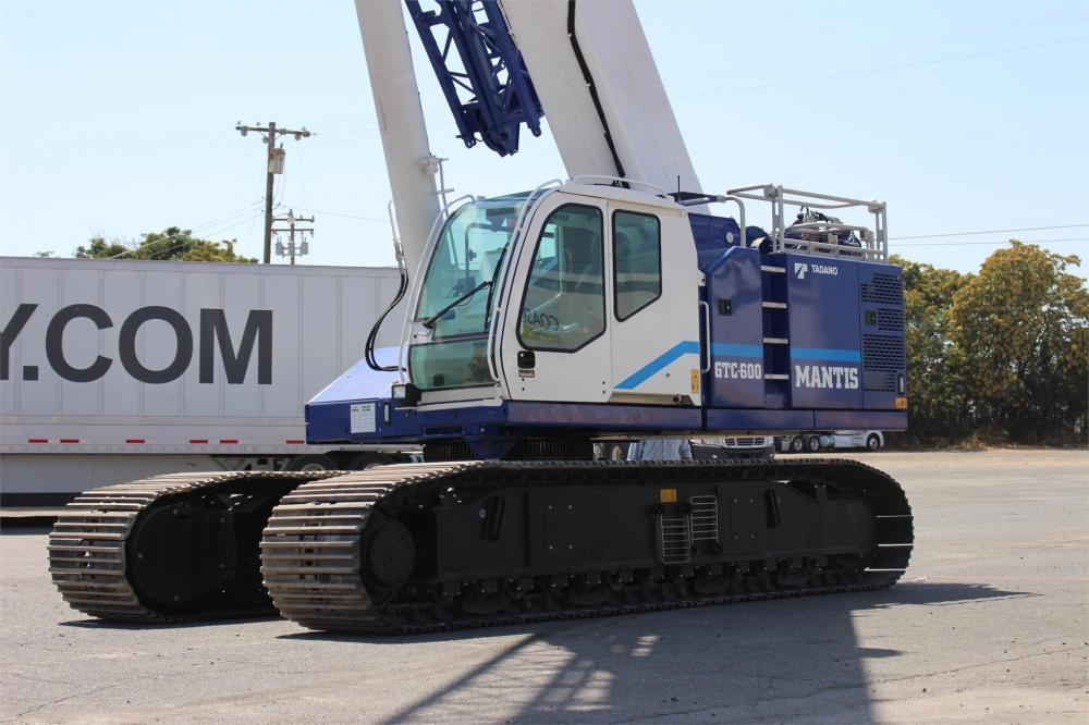 Detail photo of 2017 Tadano GTC-600EX from Construction Equipment Guide