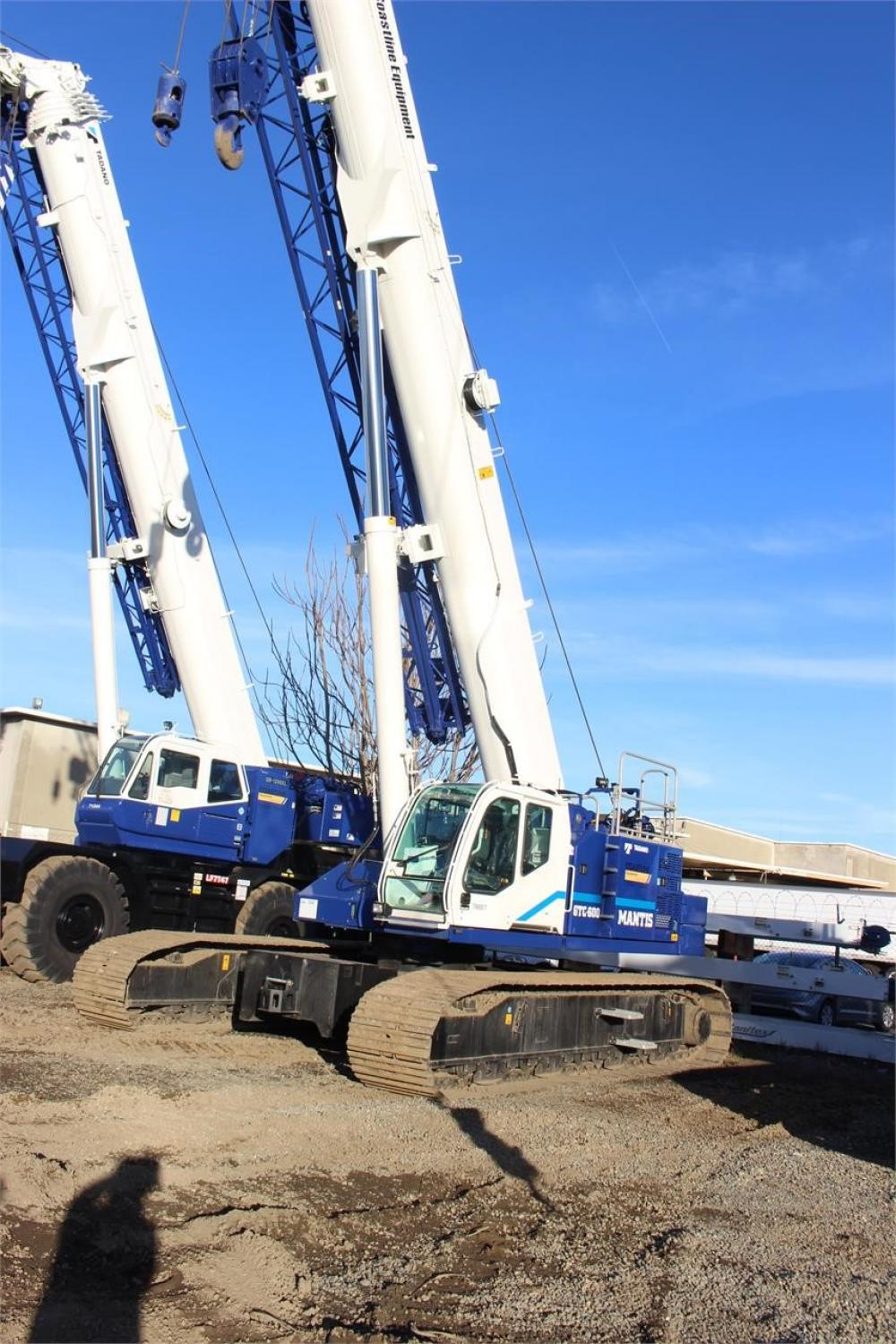 Detail photo of 2018 Tadano GTC-600EX from Construction Equipment Guide