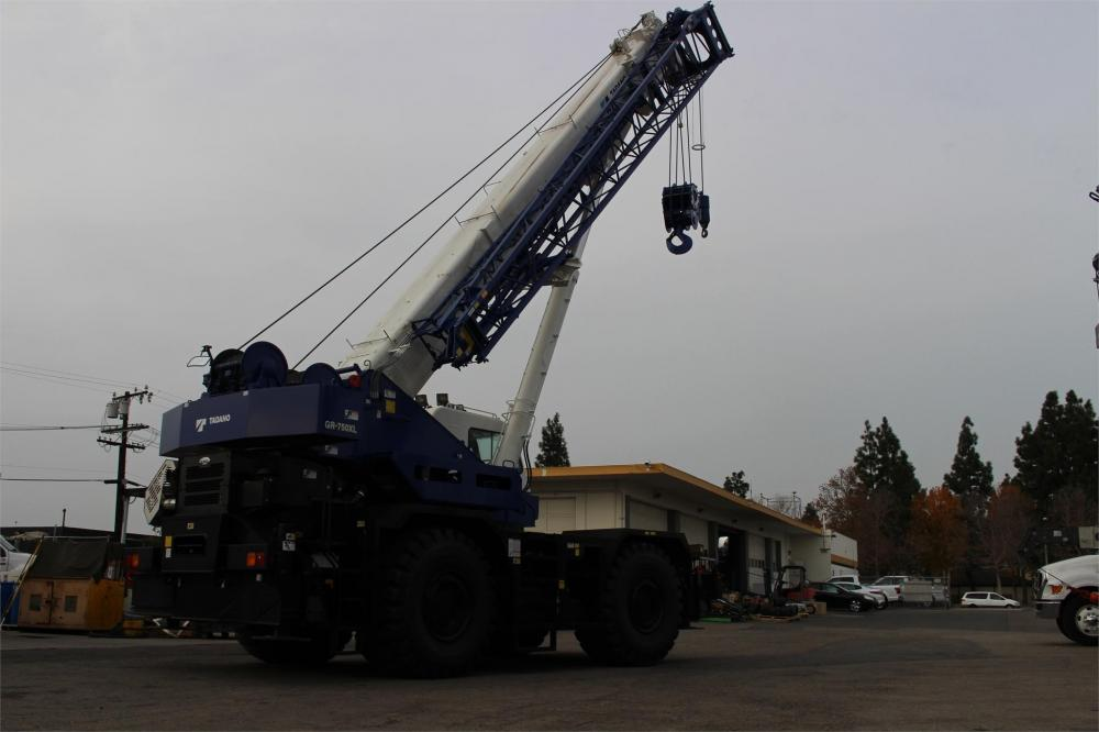 Detail photo of 2016 Tadano GR-750XL-2 from Construction Equipment Guide