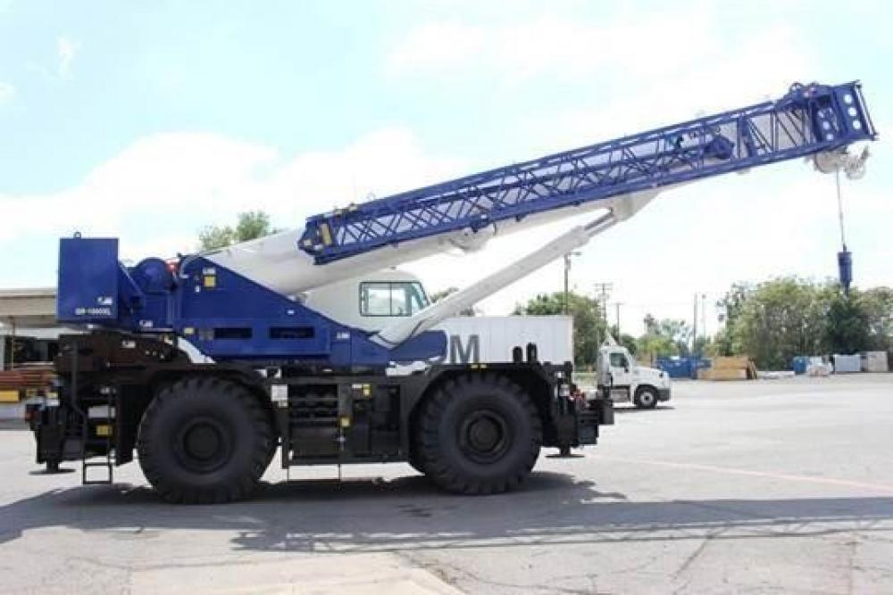 Detail photo of 2017 Tadano GR-1000XL-2 from Construction Equipment Guide