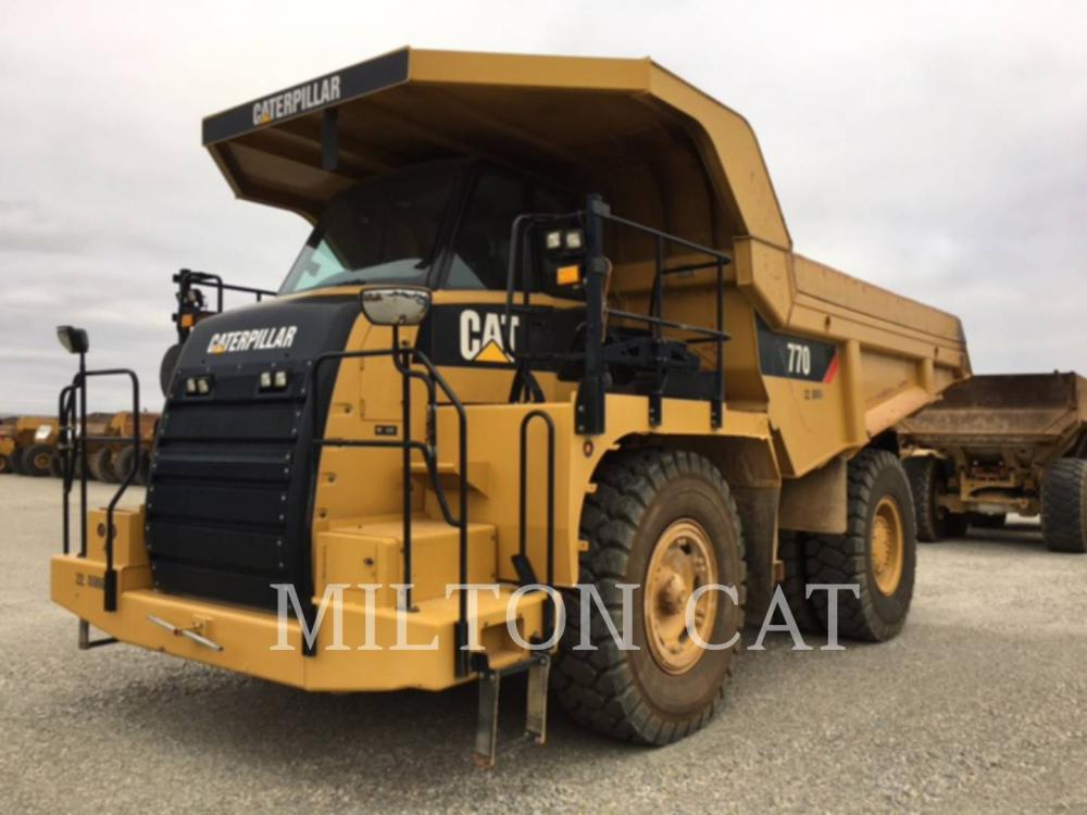 Detail photo of 2013 Caterpillar 770 from Construction Equipment Guide