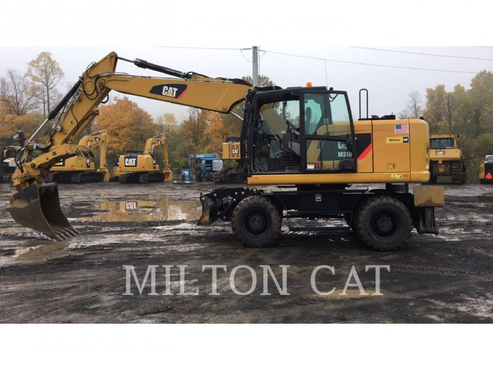 Detail photo of 2015 Caterpillar M318F from Construction Equipment Guide