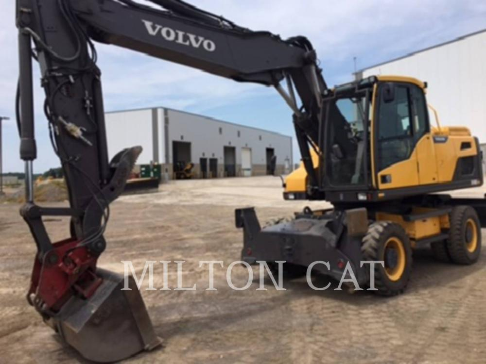 Detail photo of 2012 Volvo EW180D from Construction Equipment Guide