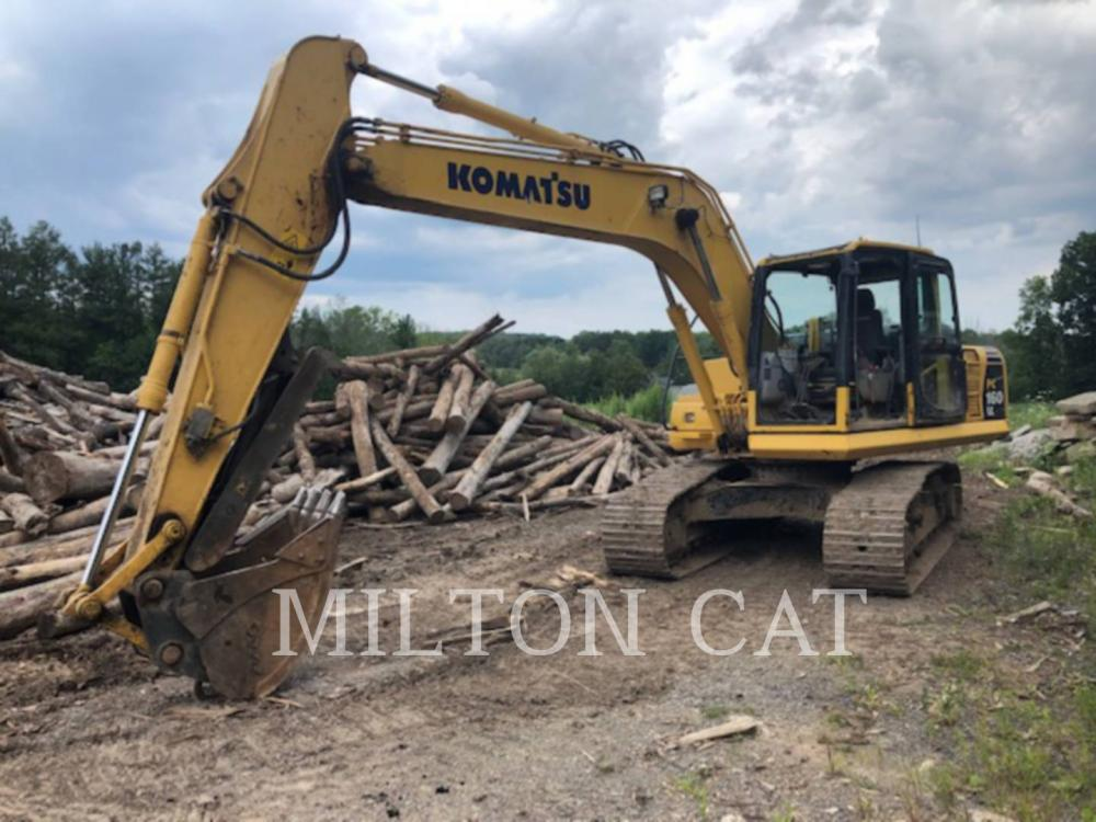 Detail photo of 2013 Komatsu PC160LC-8 from Construction Equipment Guide