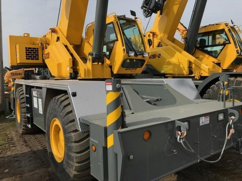 Detail photo of 2015 Grove RT650E from Construction Equipment Guide