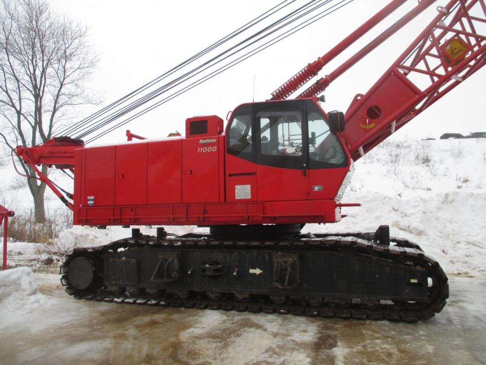 Detail photo of 2007 Manitowoc 11000-1 from Construction Equipment Guide
