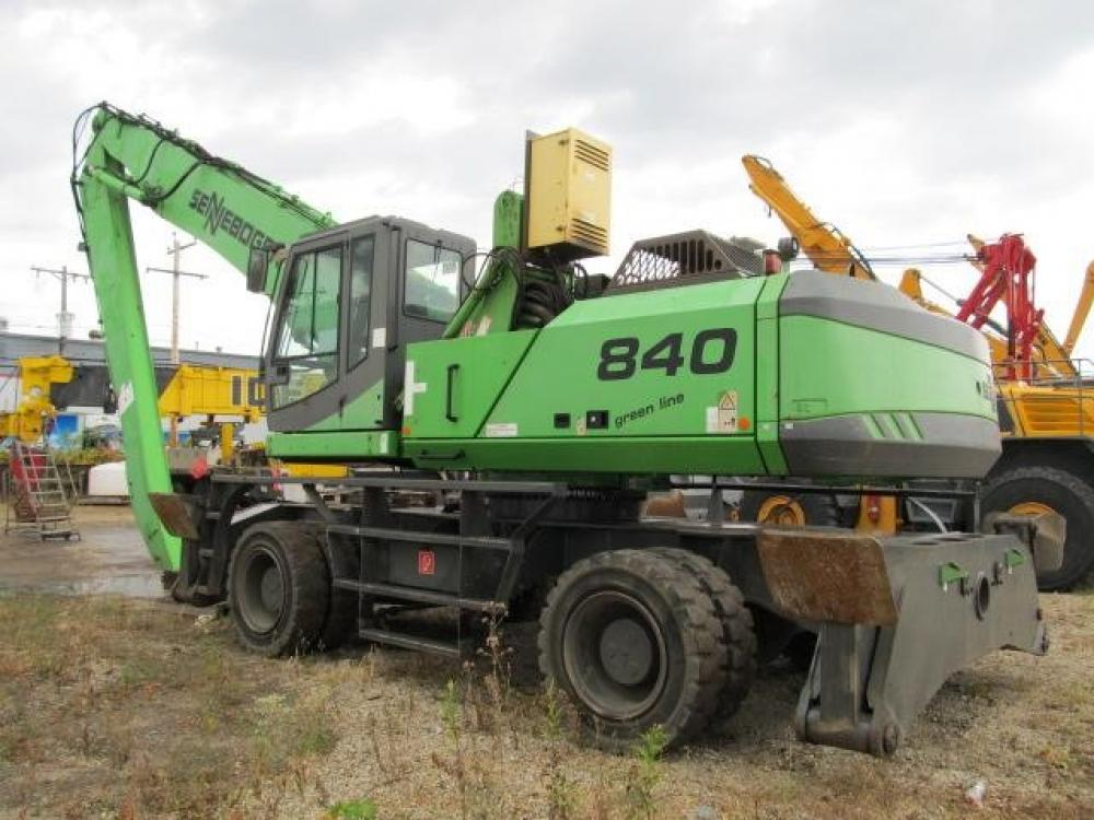 Detail photo of 2006 Sennebogen 840M from Construction Equipment Guide