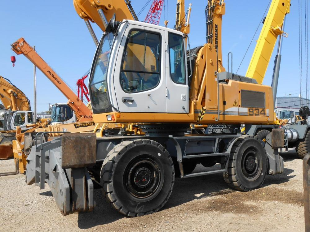 Detail photo of 2008 Liebherr A934CHD from Construction Equipment Guide