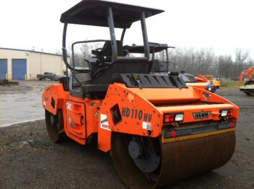 Detail photo of 2012 Hamm HD 110VV from Construction Equipment Guide