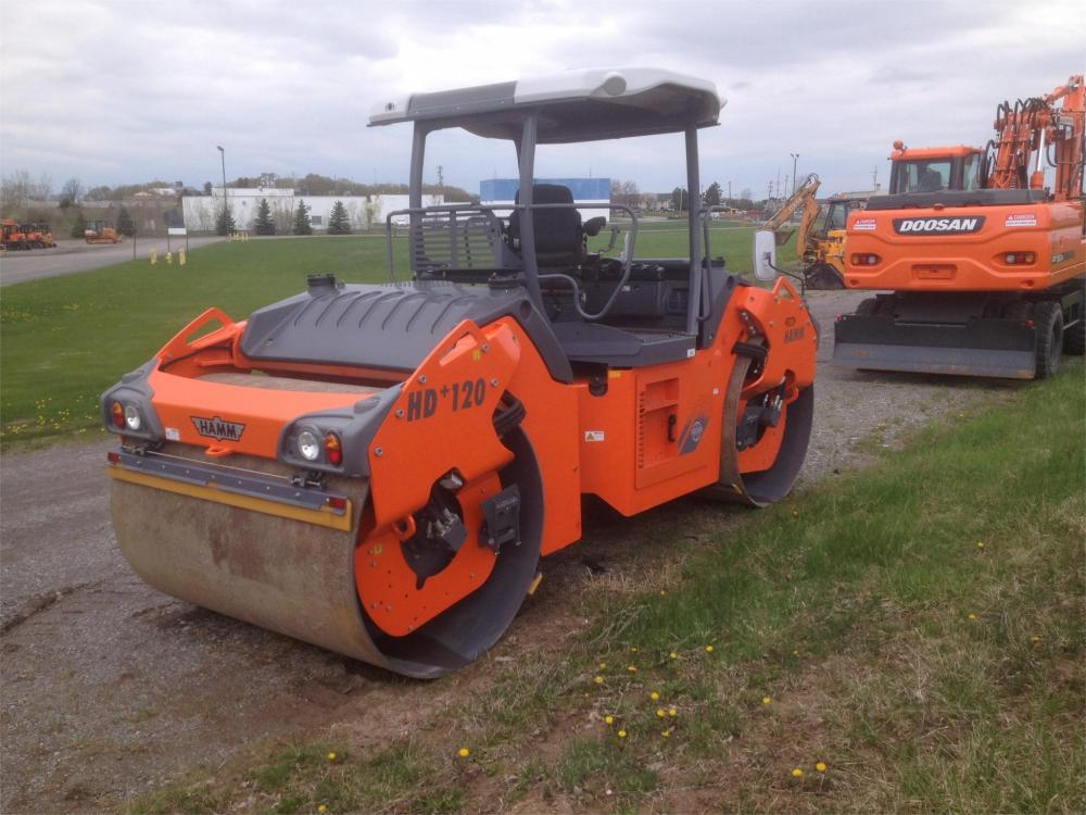 Detail photo of 2012 Hamm HD+ 120VV from Construction Equipment Guide