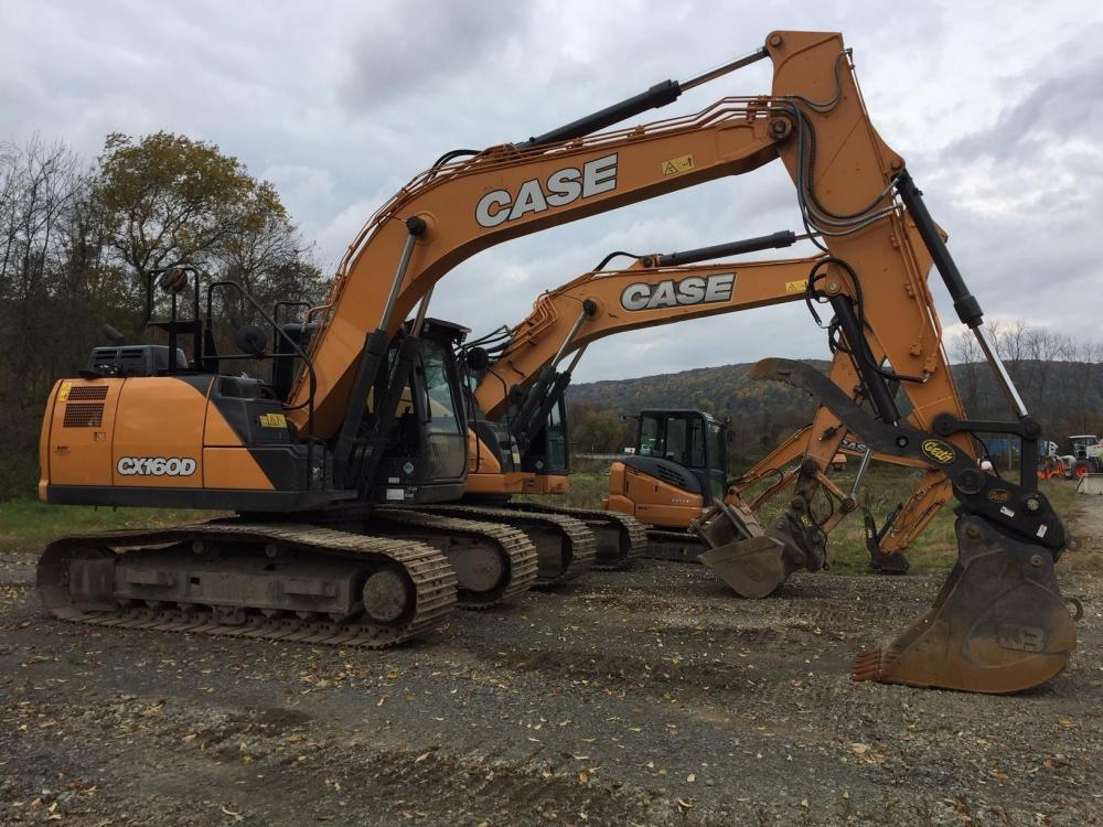Detail photo of 2018 Case CX160D from Construction Equipment Guide