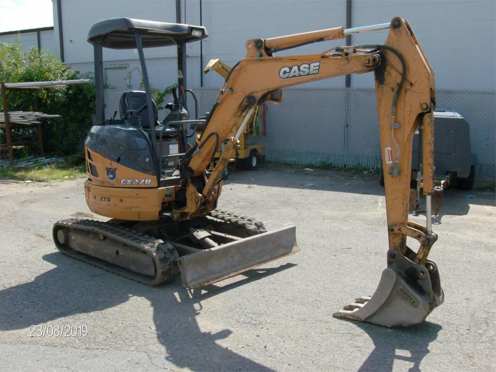 Detail photo of 2013 Case CX27B from Construction Equipment Guide
