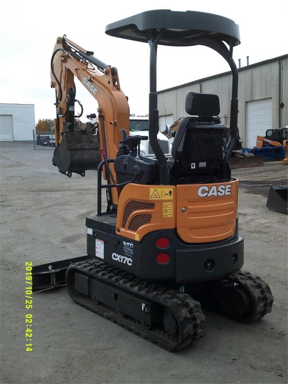 Detail photo of 2018 Case CX17C from Construction Equipment Guide