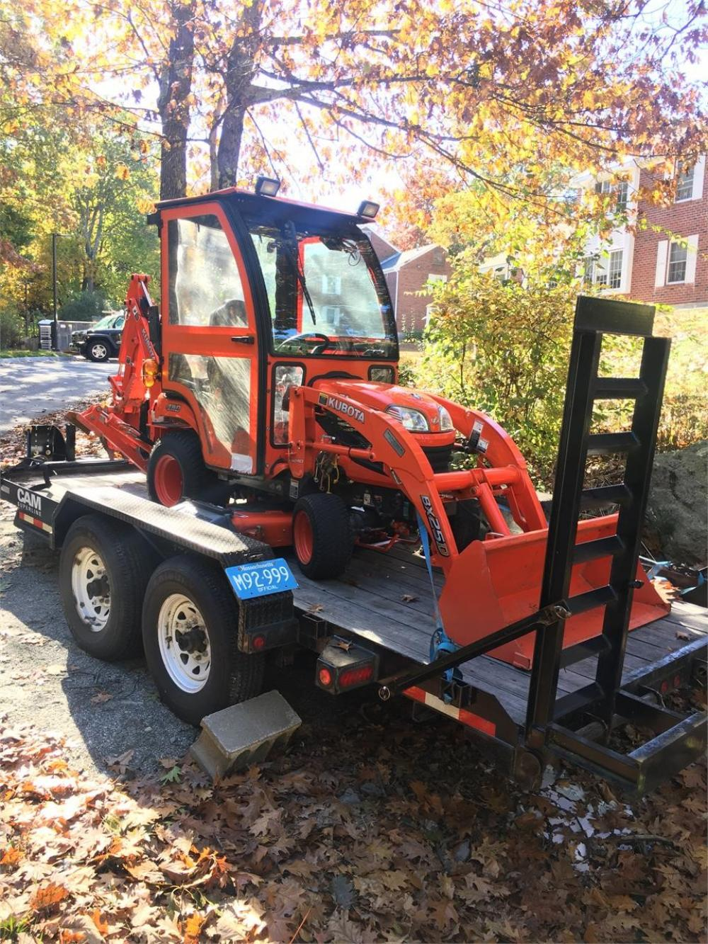 Detail photo of 2015 Kubota BX25D from Construction Equipment Guide