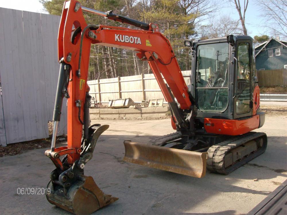 Detail photo of 2017 Kubota KX040-4 from Construction Equipment Guide