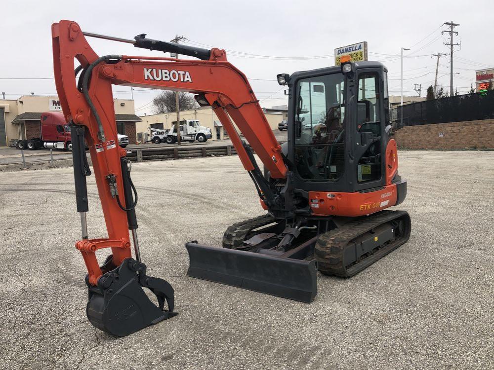 Detail photo of 2014 Kubota KX040-4 from Construction Equipment Guide