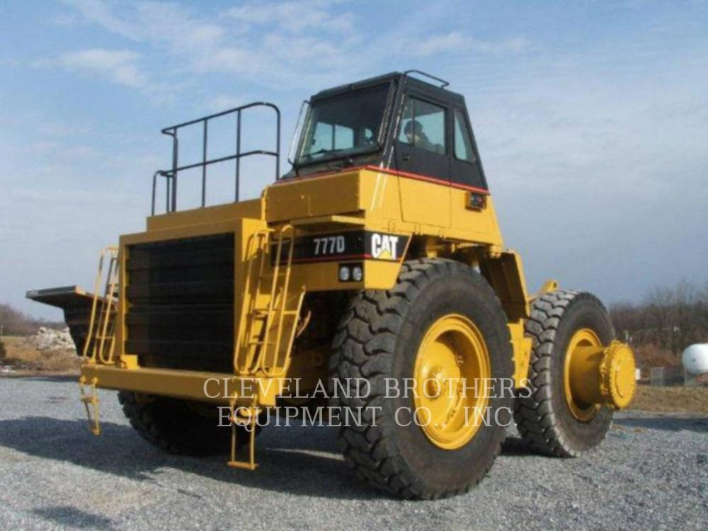 Detail photo of 2000 Caterpillar 777D from Construction Equipment Guide