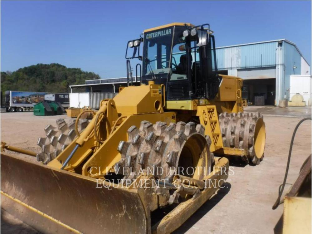 Detail photo of 2011 Caterpillar 815F II from Construction Equipment Guide