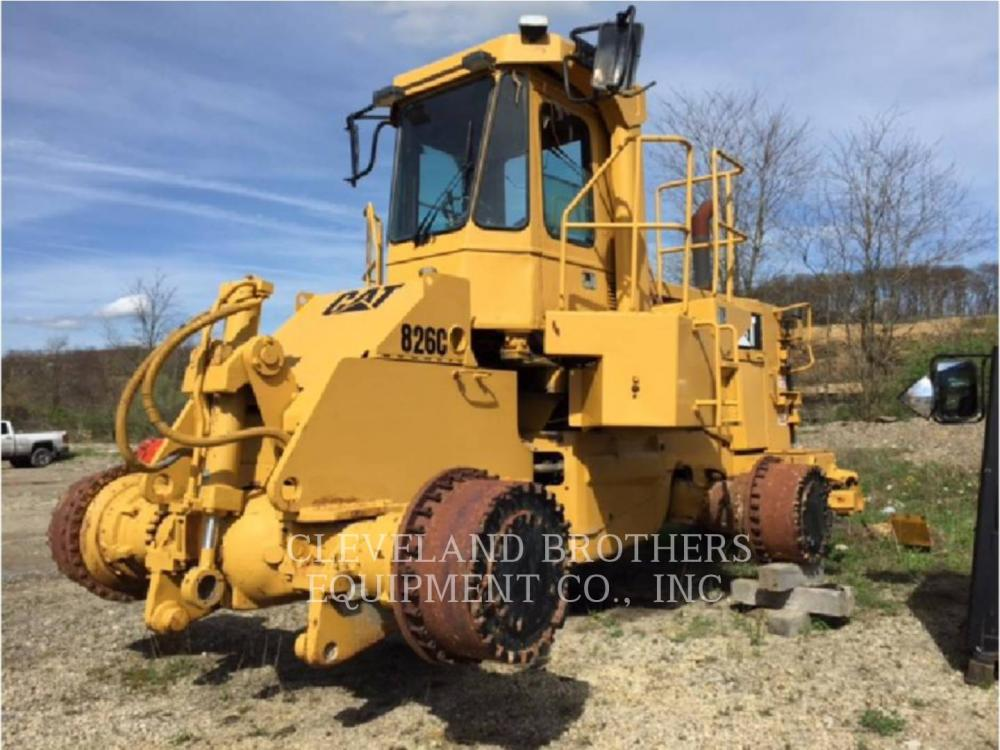 Detail photo of 1989 Caterpillar 826C from Construction Equipment Guide