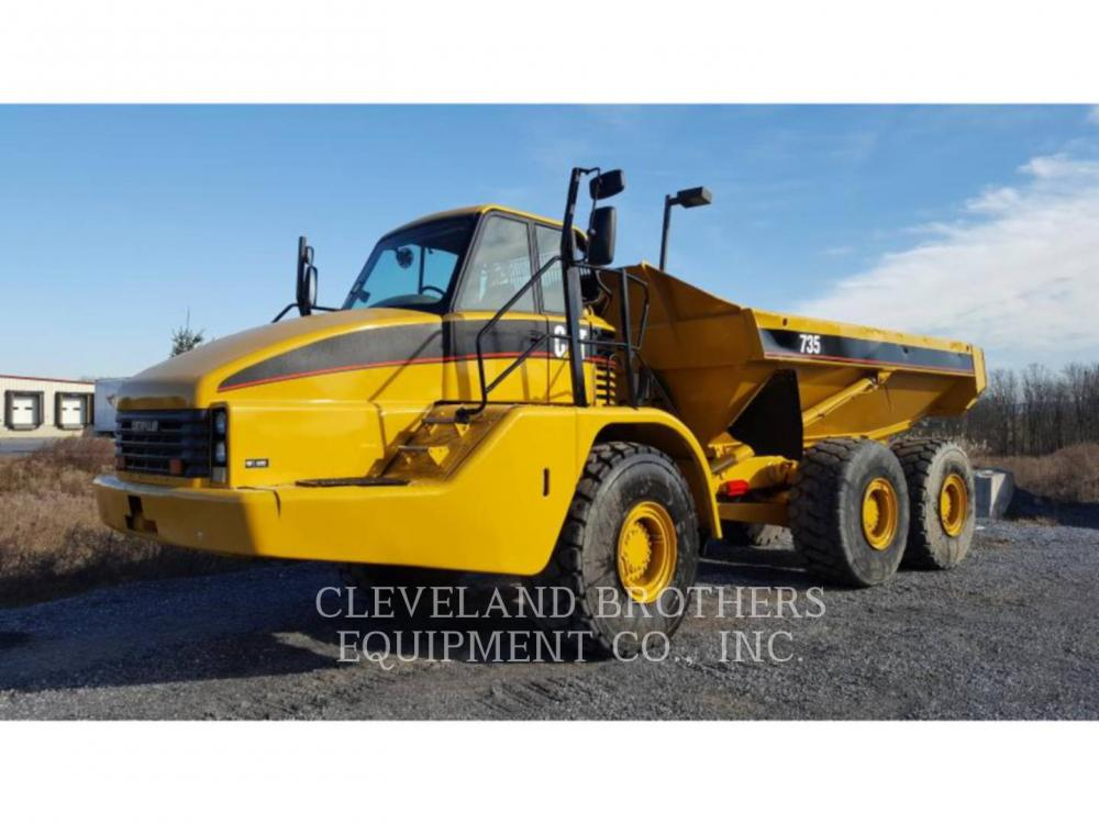 Detail photo of 2006 Caterpillar 735 from Construction Equipment Guide