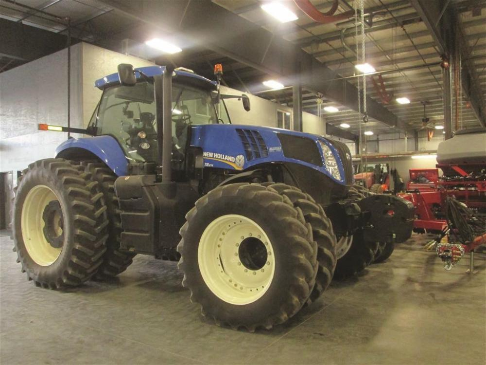 Detail photo of 2012 New Holland T8.275 from Construction Equipment Guide