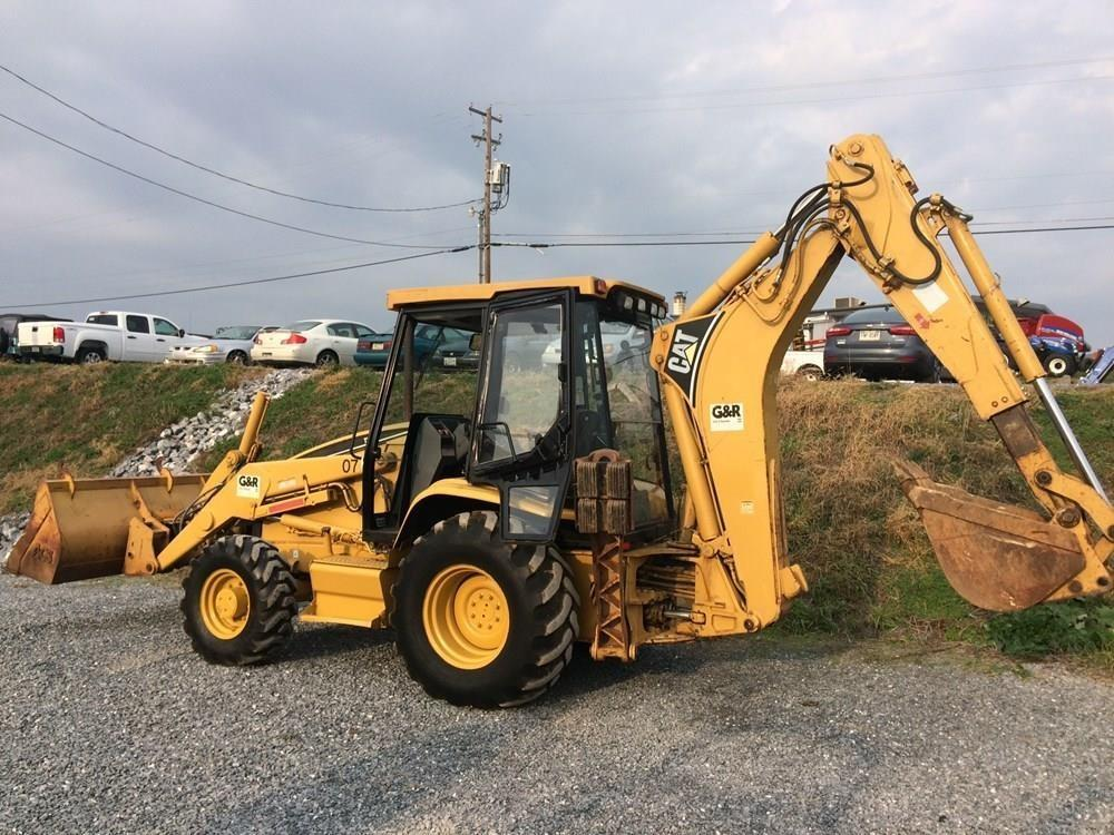 Detail photo of 1999 Caterpillar 416 from Construction Equipment Guide