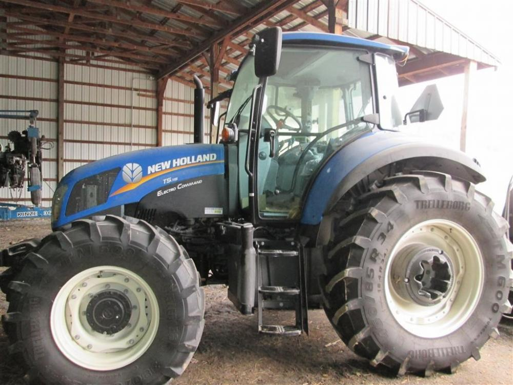 Detail photo of  New Holland T5.115 from Construction Equipment Guide