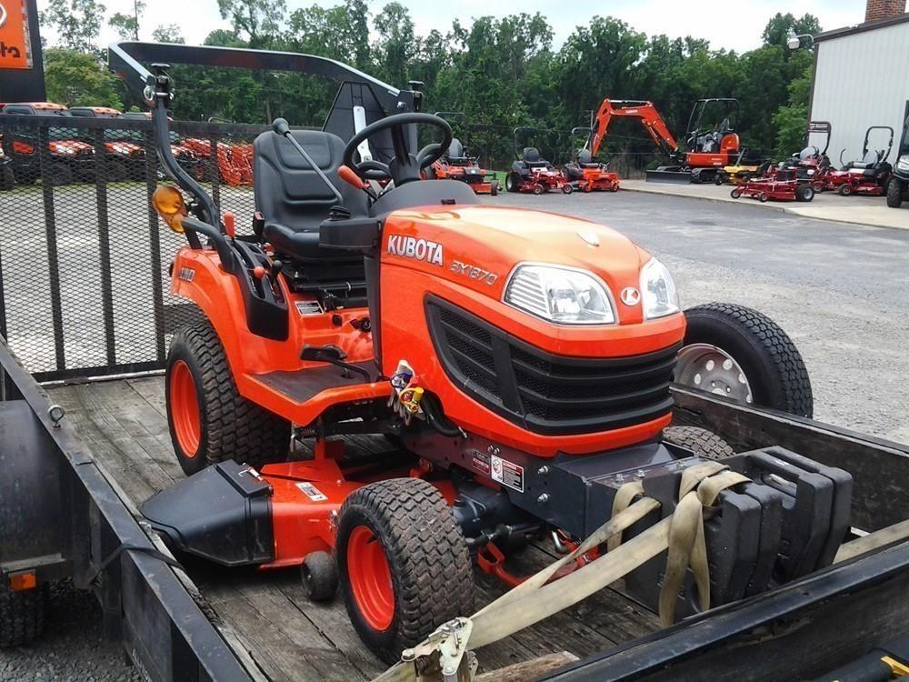 Detail photo of 2014 Kubota BX1870 from Construction Equipment Guide
