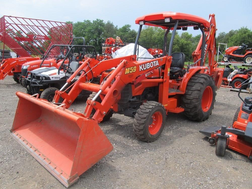 Detail photo of  Kubota M59 from Construction Equipment Guide