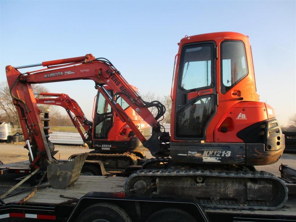Detail photo of 2007 Kubota KX121-3 from Construction Equipment Guide