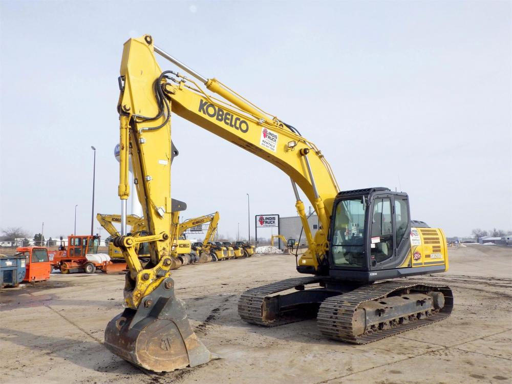 Detail photo of 2015 Kobelco SK210 LC from Construction Equipment Guide