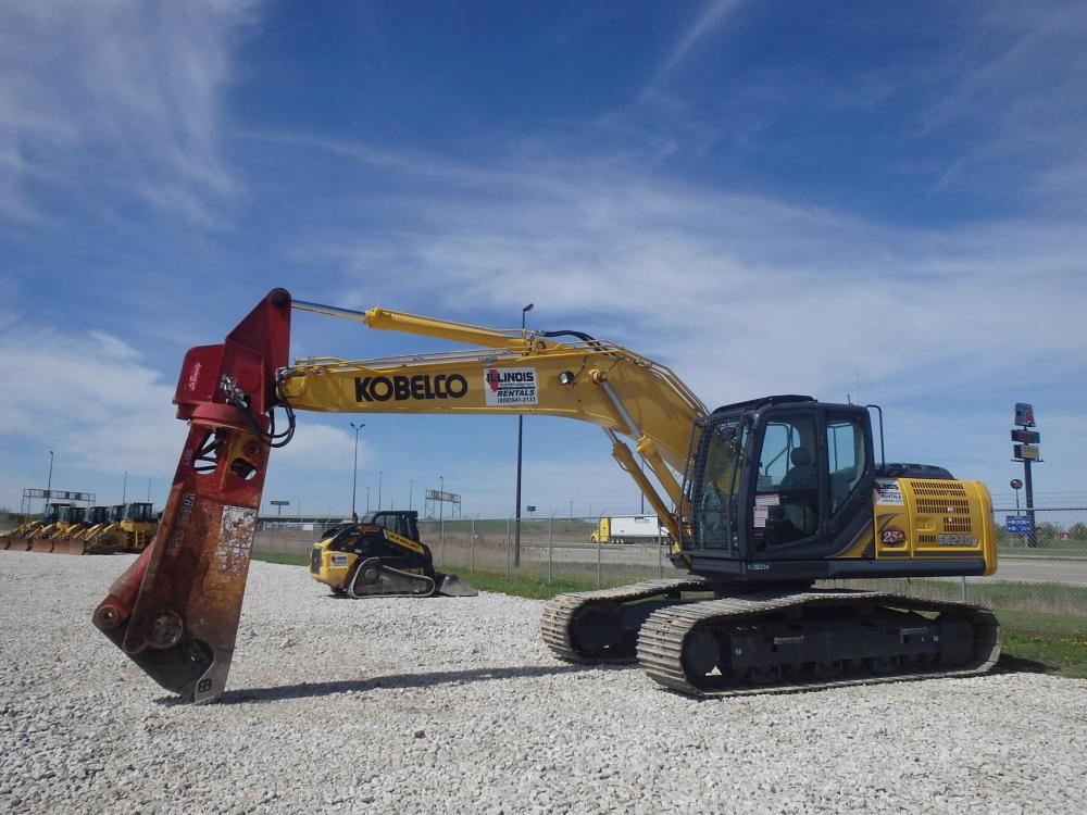 Detail photo of 2014 Kobelco SK210 LC from Construction Equipment Guide