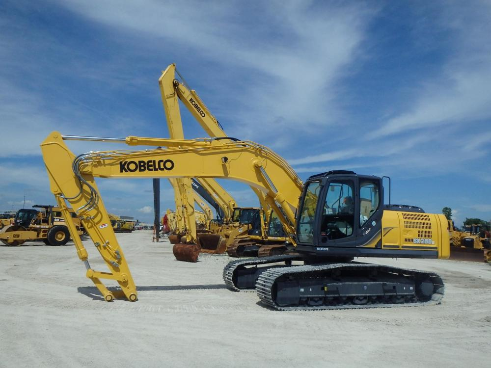 Detail photo of 2014 Kobelco SK260 LC LR ACERA MARK 9 from Construction Equipment Guide