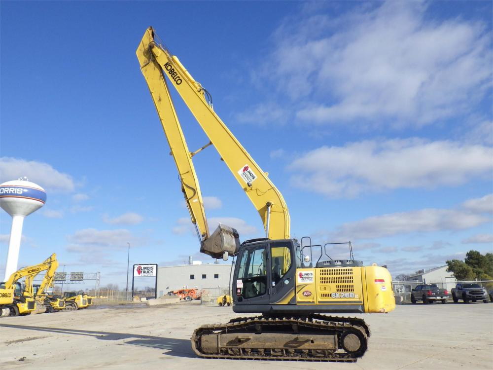 Detail photo of 2015 Kobelco SK260 LC-9 from Construction Equipment Guide