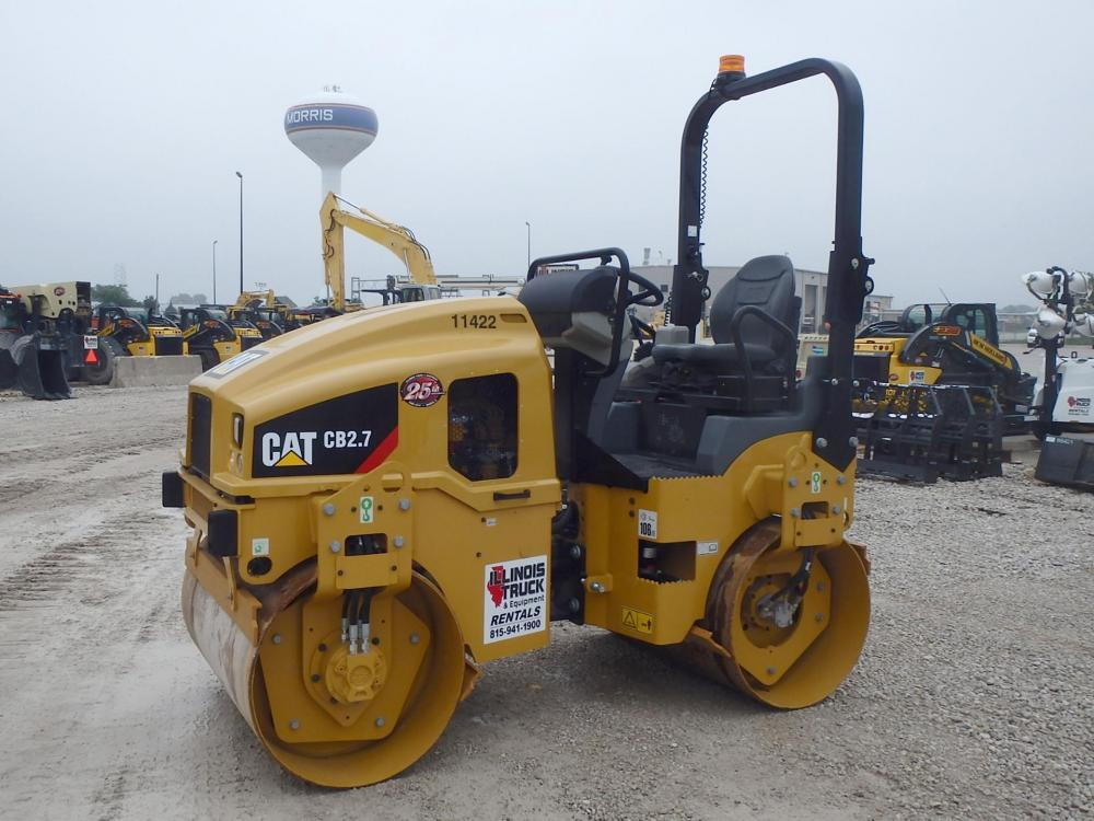 Detail photo of 2017 Caterpillar CB2.7 from Construction Equipment Guide