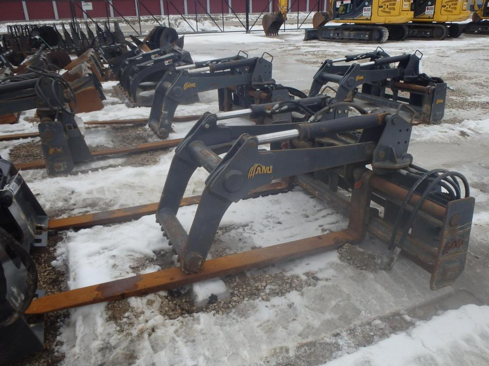 Detail photo of 2018 AMI RIG MAT GRAPPLE FORKS from Construction Equipment Guide