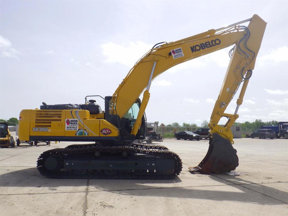Detail photo of 2019 Kobelco SK350 LC from Construction Equipment Guide
