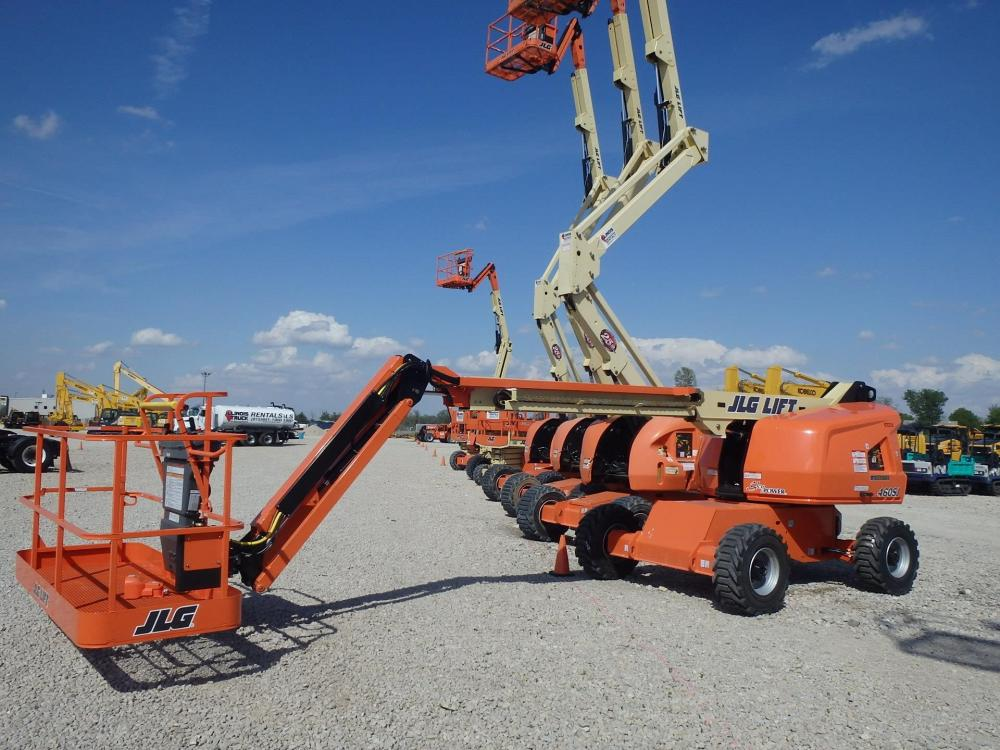 Detail photo of 2018 JLG 460SJ from Construction Equipment Guide