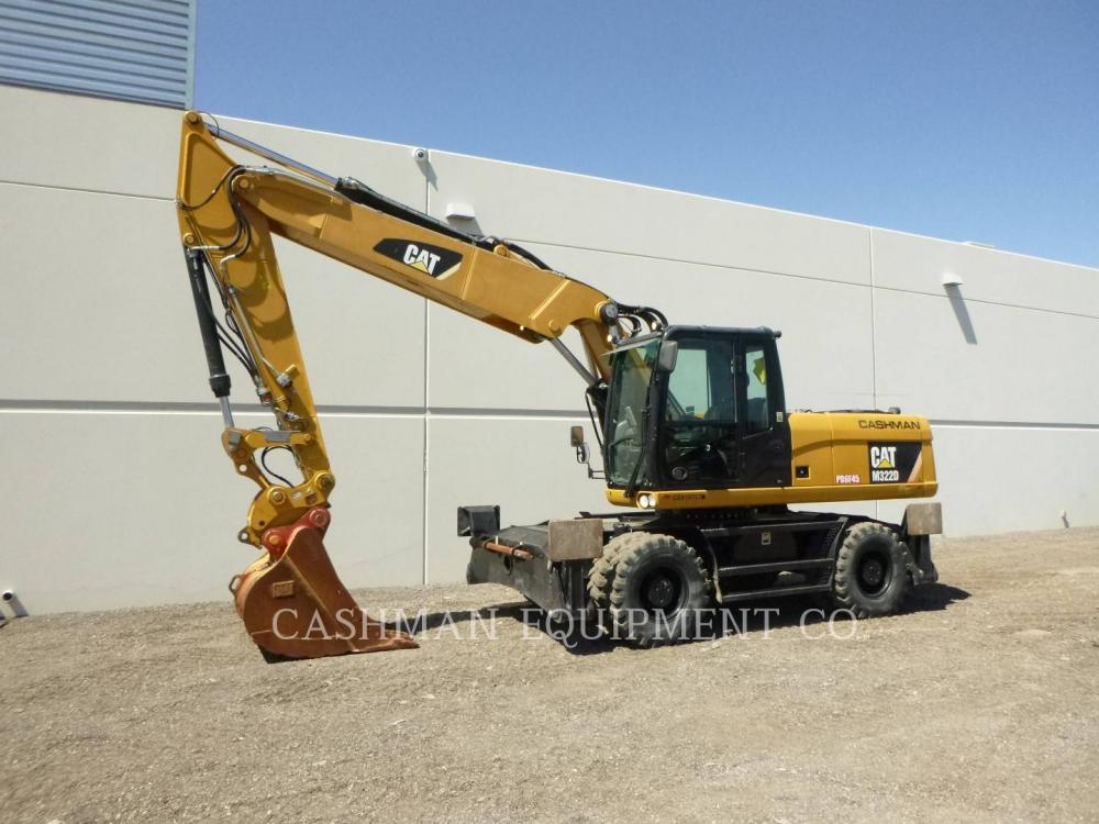Detail photo of 2015 Caterpillar M322D from Construction Equipment Guide